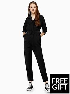 topshop-topshop-covered-belt-boilernbspsuit-black