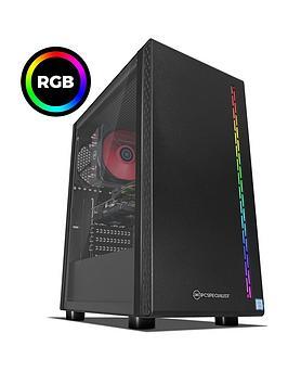 Pc Specialist Stalker Rt Intel Core I5, 8Gb Ram, 1Tb Hard Drive &Amp; 120Gb Ssd, 6Gb Nvidia Geforce Gtx 1660 Graphics, Gaming Desktop - Black