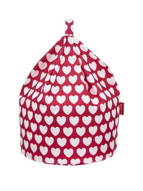kaikoo-kids-pink-heart-beanbag