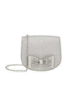 monsoon-piper-dazzle-bow-bag-silver