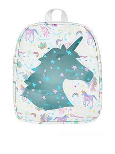 monsoon-cosmic-rainbow-unicorn-backpack-silver