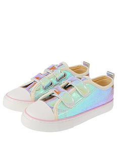 monsoon-zara-patent-shimmer-touch-fastening-trainer-multi