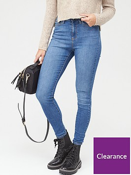 v-by-very-isabelle-high-rise-slim-leg-jeans-blue