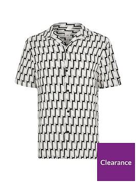 river-island-big-and-tall-black-geo-print-short-shirt
