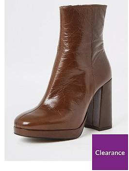 river-island-river-island-leather-platform-boot-chocolate