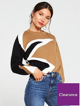 river-island-river-island-star-block-print-knitted-jumper
