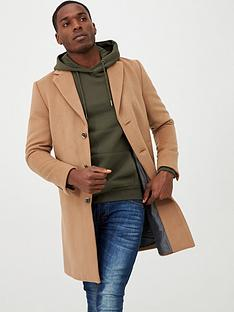 river-island-light-brown-single-breasted-overcoat