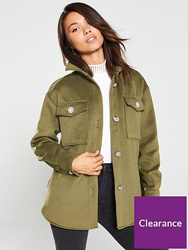 river-island-button-up-over-shirt--khaki