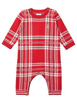 river-island-baby-baby-check-knitted-babygrow