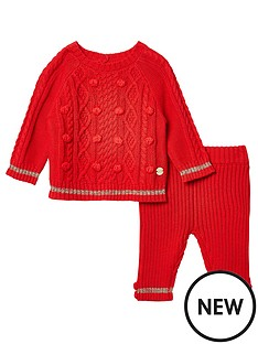 river-island-baby-knitted-red-pom-set