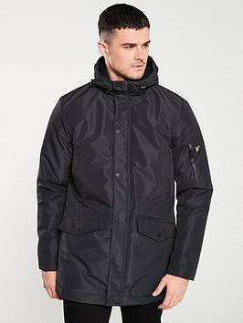 Lyle & Scott Lyle & Scott Technical Parka Jacket - Black Picture