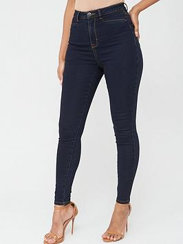 V by Very V By Very Addison Super High Waisted Super Skinny Jeans - Dark  ... Picture
