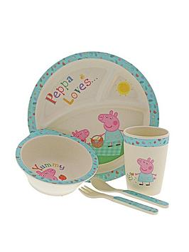 Peppa Pig Peppa Pig Bamboo Dinner Set Picture