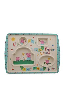 Peppa Pig Peppa Pig Bamboo Game Plate Picture