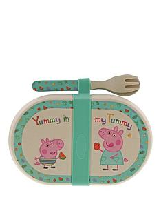 peppa-pig-peppa-pig-bamboo-snack-box-with-cutlery-set