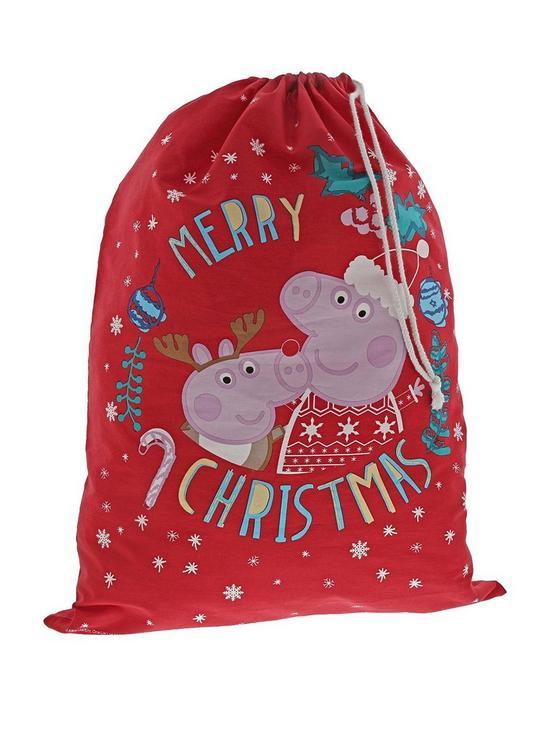 Christmas Sack by Peppa Pig