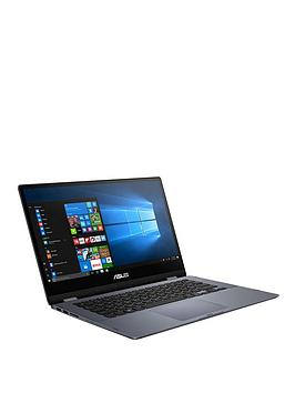 asus-vivobook-flip-tp412ua-ec193t-intel-pentium-4gb-ram-128gb-ssd-14-inch-fhd-touch-laptop-grey-with-microsoft-365-family-1-year