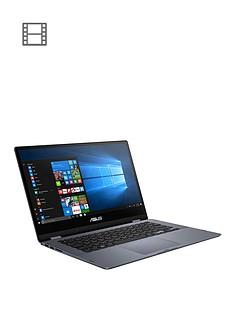 asus-vivobook-flip-tp412ua-ec193t-intel-pentium-4gb-ram-128gb-ssd-14-inch-fhd-touch-laptop-grey-with-microsoft-office-365-home-and-mcafee-total-protection-5-1-year