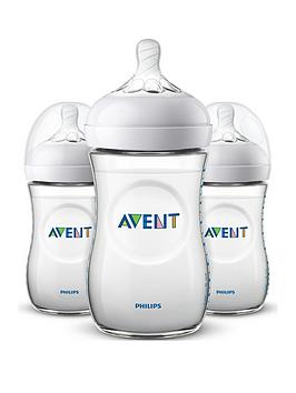avent-philips-avent-natural-baby-bottles-2x-9oz260ml