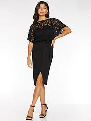 Lace Dresses Party Dresses Short Sleeve Dresses Women Www Littlewoods Com