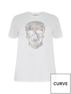 ri-plus-skull-stud-t-shirt-white