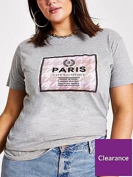 ri-plus-paris-t-shirt-grey
