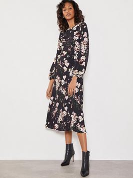 Mint Velvet Mint Velvet Gabriella Floral Print Dress - Multi Picture