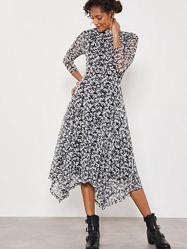 Mint Velvet Mint Velvet Bonnie Print Jersey Dress - Multi Picture