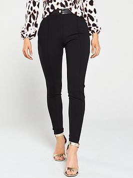 river-island-ponte-skinny-trouser-black