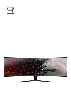 acer-49-inchnbspcurved-zeroframe-329-quantum-dot-120hz-144hz-overclock-freesync-2-va-led-display-hdr-400-4ms-400nits-3xhdmi-1xdp-gaming-monitor-black