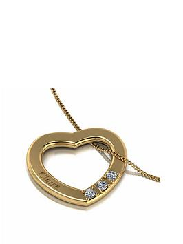 love-diamond-personalised-9ct-gold-diamond-set-3-stone-cut-out-heart-pendant-necklace