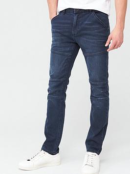 V by Very V By Very Slim Utility Jeans - Dark Blue Picture