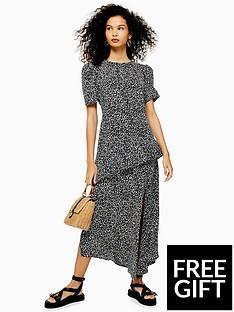 topshop-topshop-printed-side-split-midi-dress-monochrome