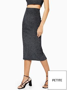 topshop-petite-metallic-ribbed-skirt-co-ordnbsp--gunmetal