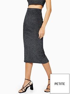 topshop-topshop-petite-metallic-ribbed-skirt-co-ordnbsp--gunmetal