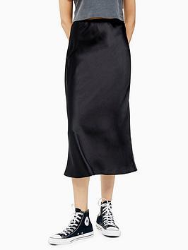 topshop-topshop-satin-bias-cut-midi-skirt-black