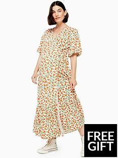 topshop-topshop-maternity-peplum-wrap-dress-multi