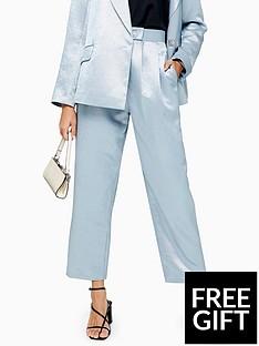 topshop-topshop-smart-satin-trousers-blue