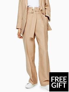 topshop-topshop-slouch-peg-trousers-sand