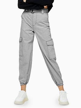 topshop-judo-denim-joggers-grey