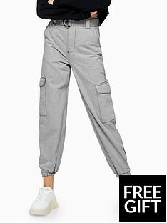topshop-topshop-judo-denim-joggers-grey