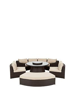 Very San Remo 6 Piece Dining Set With Round Table Picture
