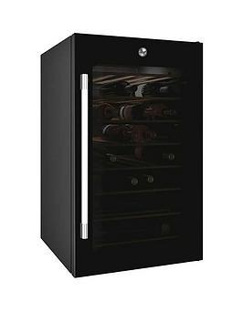 hoover-hwc-150uk-free-standing-wine-cooler-black