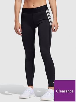 adidas-alphaskin-3-stripe-tights-black