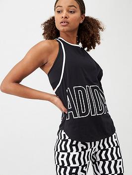 Adidas   Alpha Tank - Black