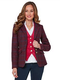 joe-browns-stunning-check-jacket-pink