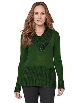 Joe Browns Joe Browns Curiously Cosy Knit - Green Picture