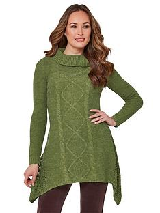 joe-browns-remarkable-roll-neck-jumper-green