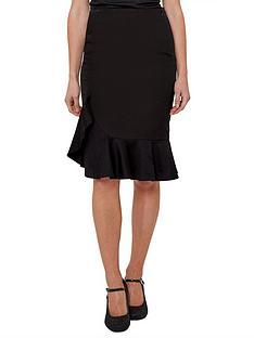 joe-browns-flirty-frill-skirt-black
