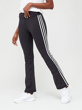 Adidas Adidas Brushed 3S Flared Pant - Black Picture
